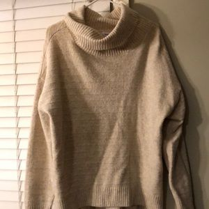 Old Navy Tan Heavy Weight Sweater